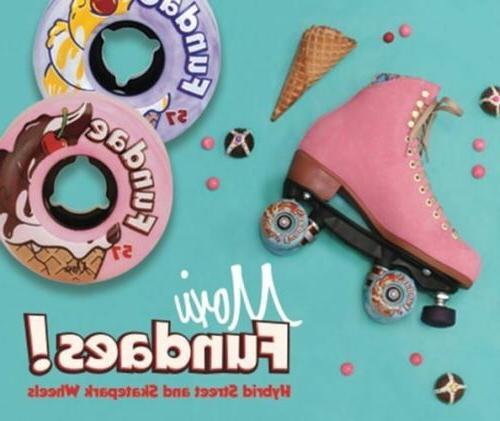 moxi skates fundae skatepark street wheel set
