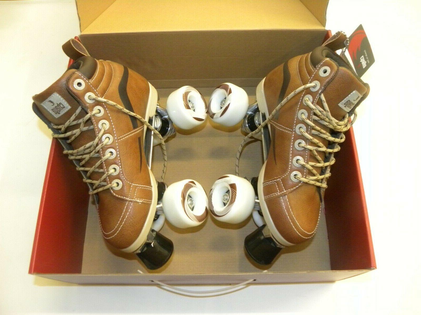 Chaya Neat Vintage Quad Skates Brown Skate Multiple Sizes