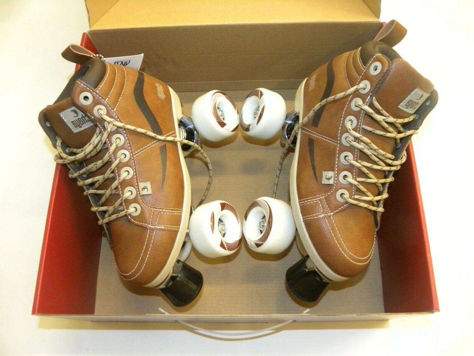 Chaya Skates Brown Sizes NEW
