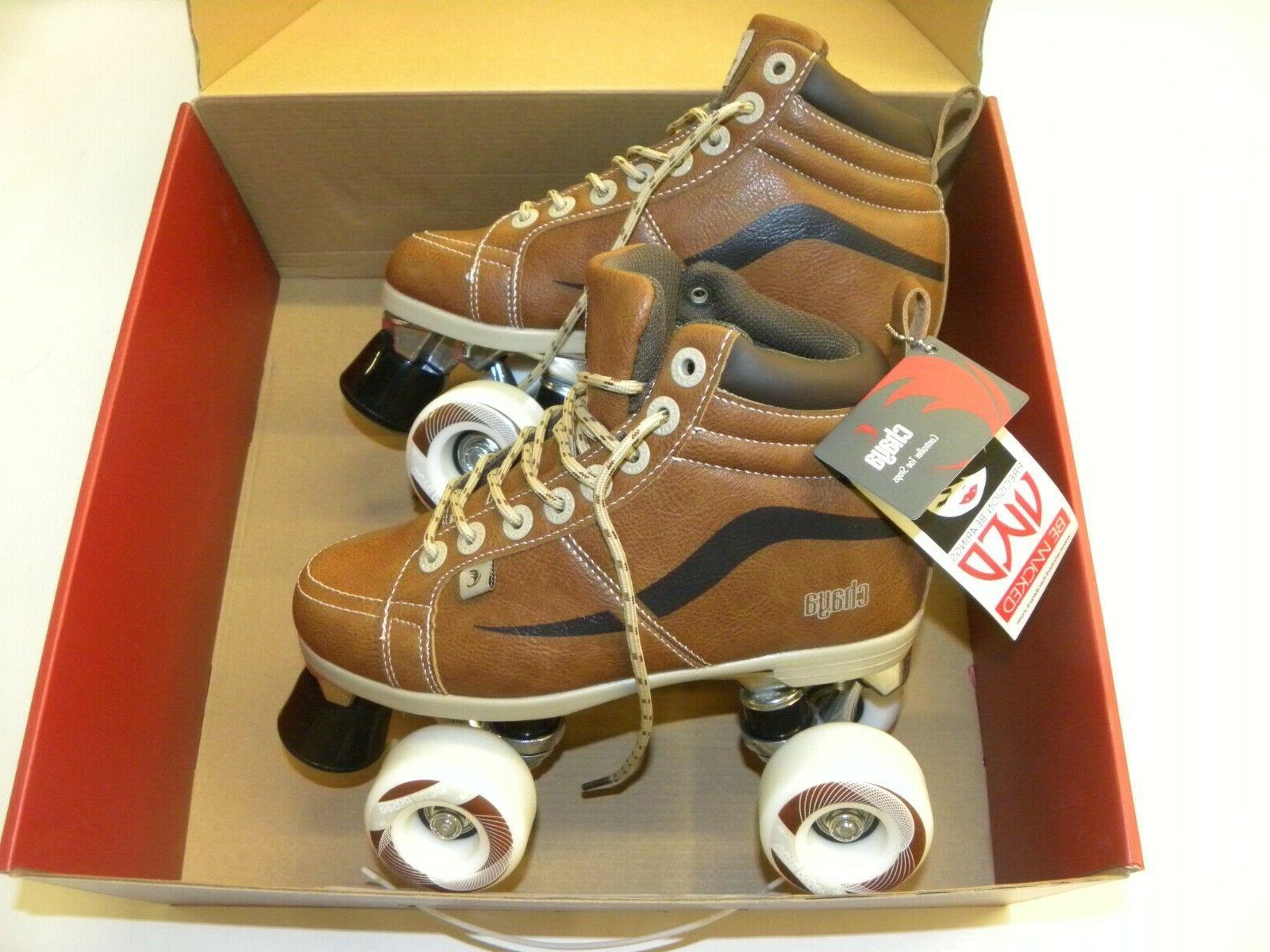 neat vintage quad skates brown skate multiple