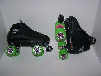 new 122 custom leather roller skates mens