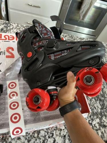 NEW Roller Derby Adjustable Inline Skates, Boys 3-6 READ DESCRIPTION