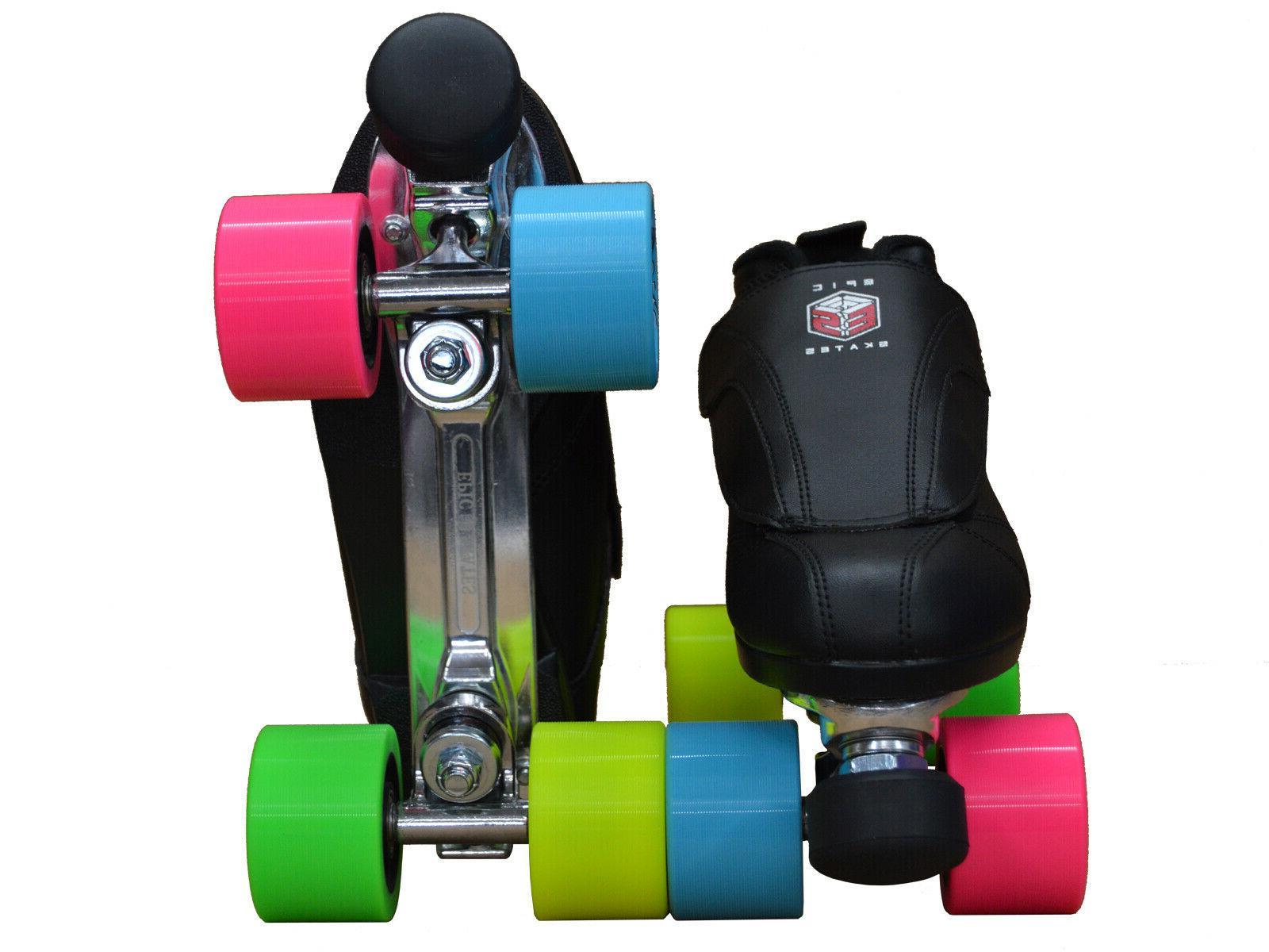 New! Rainbow Epic Skates Evolution Roller Jam Speed Skates