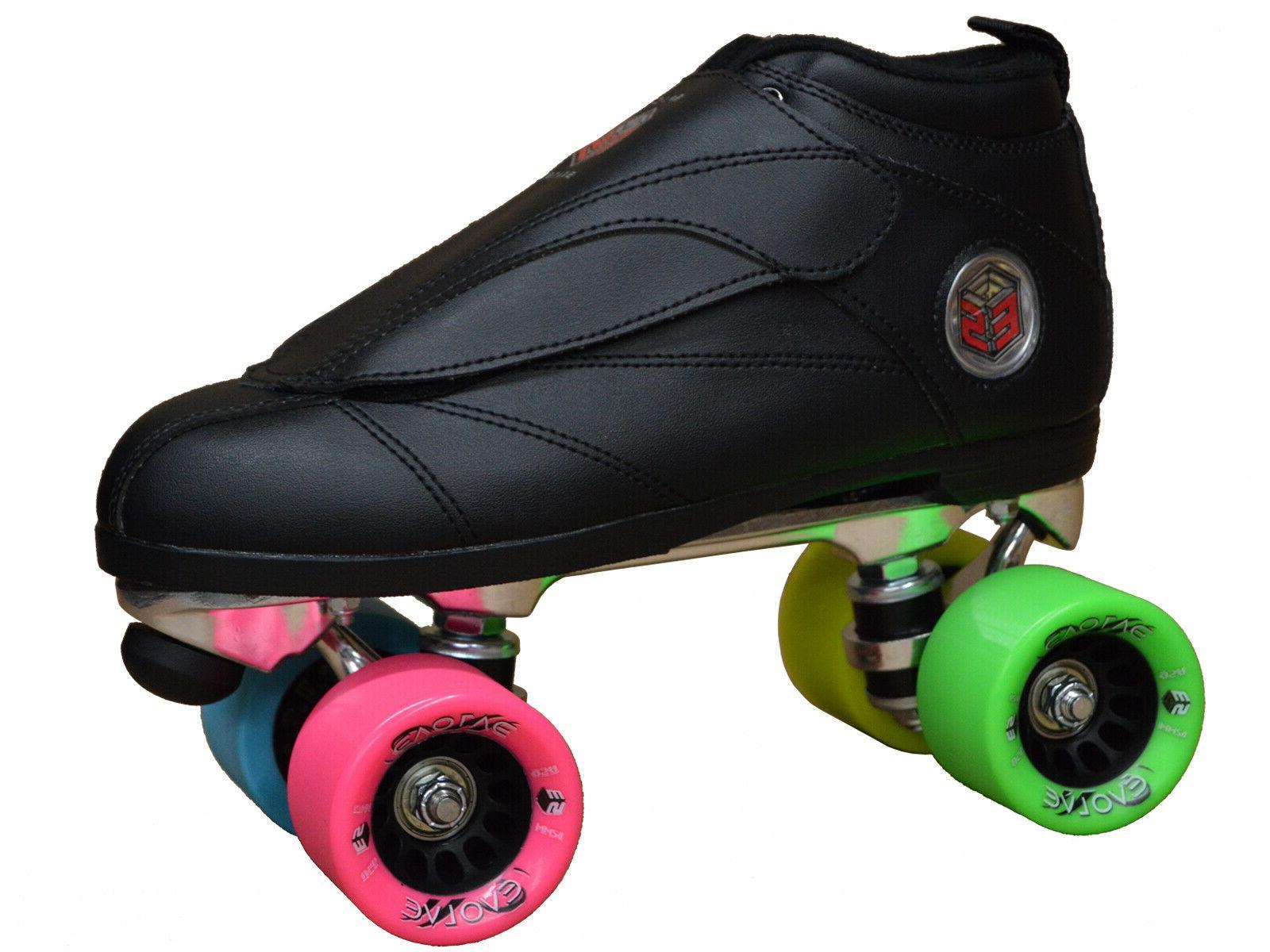 New! Black & Epic Skates Evolution Roller