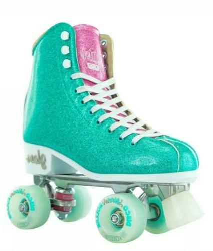 Skates ~Women Girls SIZE 7 Dazzle Glittering Sparkle