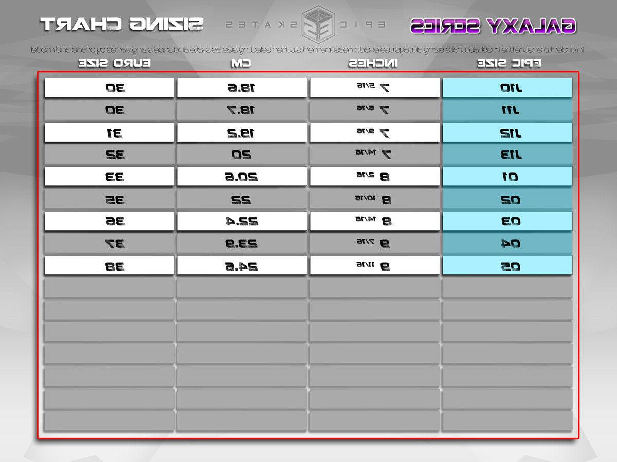 New Galaxy & Outdoor Quad Speed Size