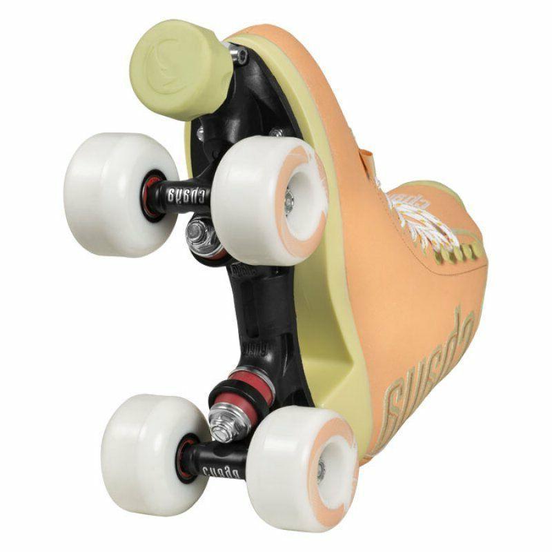 New Chaya Melrose Elite Peaches /& Cream Quad Indoor Outdoor Roller Skates