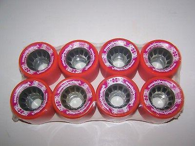 new pink licious 62mmx40mm roller skate quad