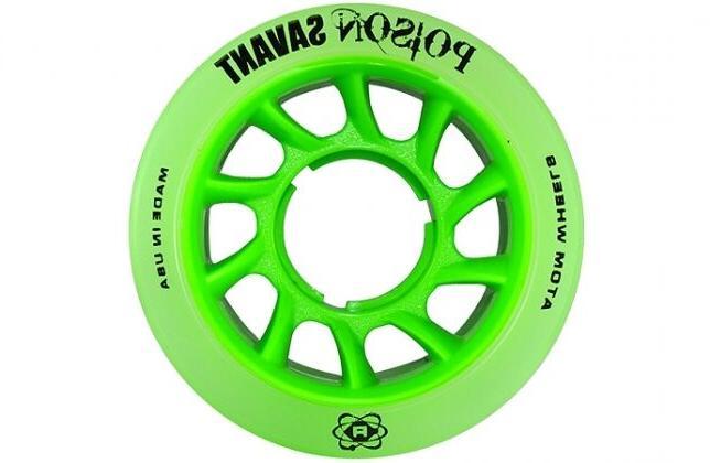 New Poison Savant Skate Wheels Set 8