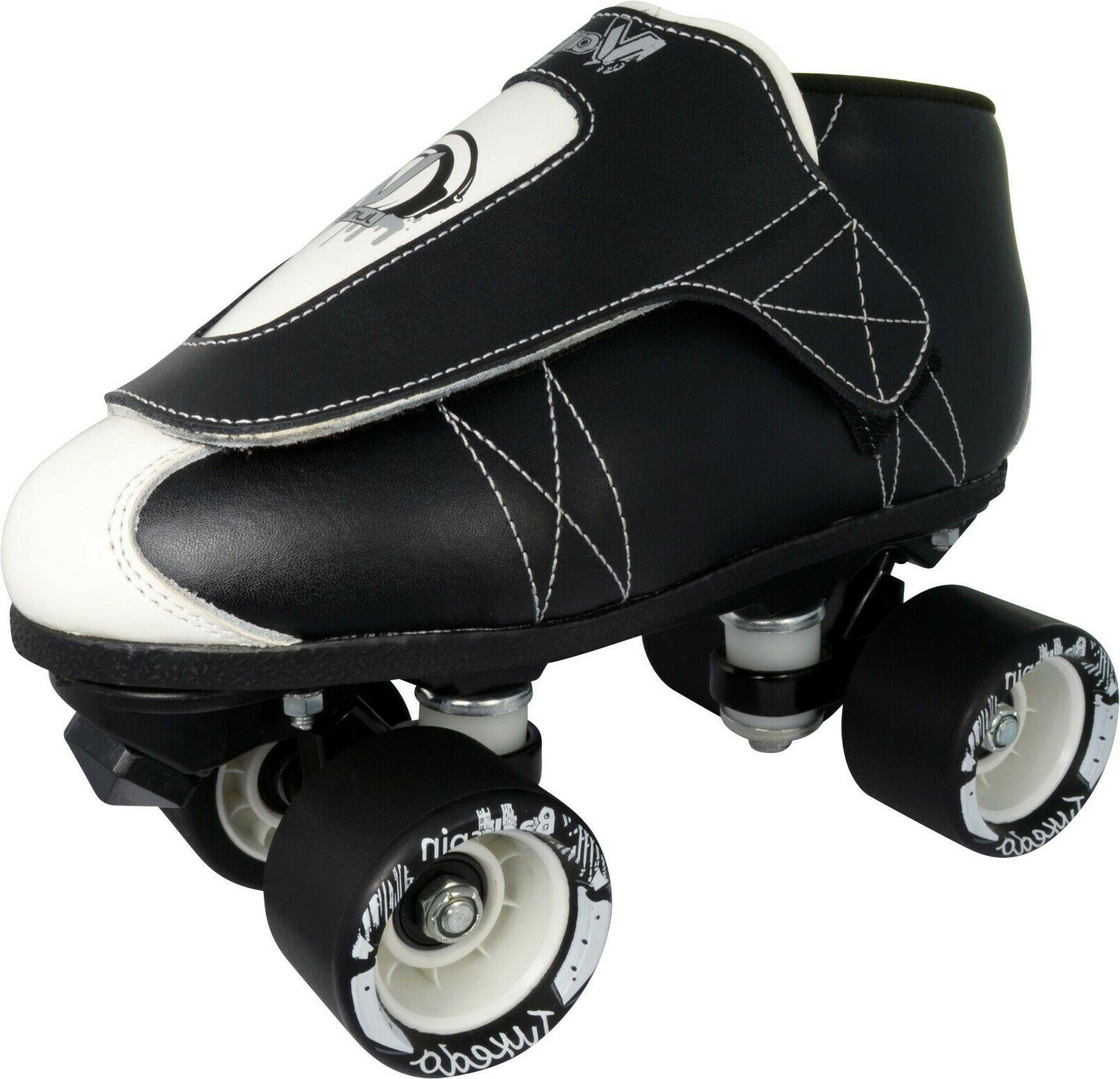 new vnla tuxedo black and white quad