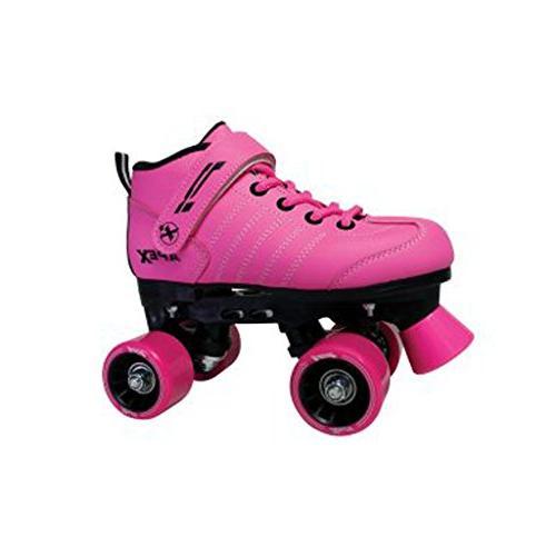p1 roller skates pink 10j