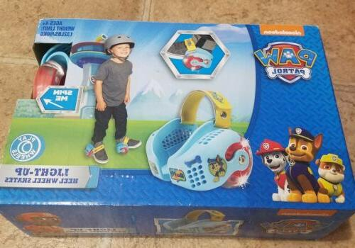 paw patrol led light up heel wheel