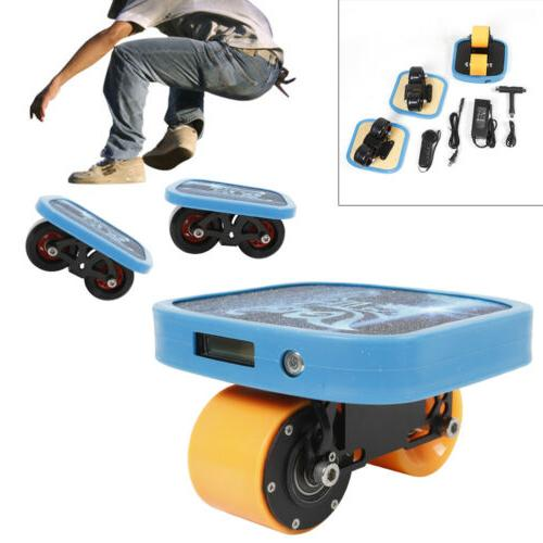 Portable Roller Skates Plate Anti-Slip Board Split