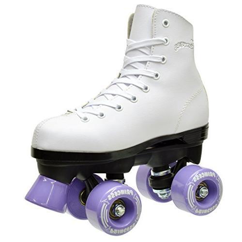 Epic Roller Skates, White/Purple, 1