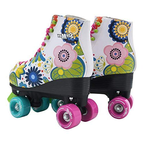 Stemax Quad Roller Skates for Girls Outdoor Classic Skates with System