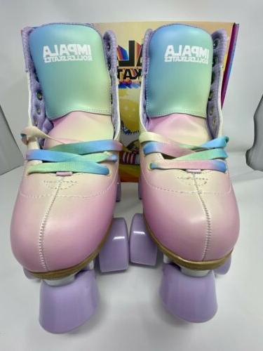quad roller skates vegan womens pastel fade