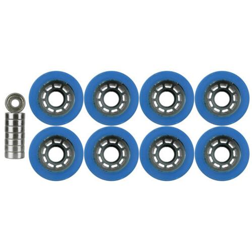 Quad Wheels Derby Skate x Blue With