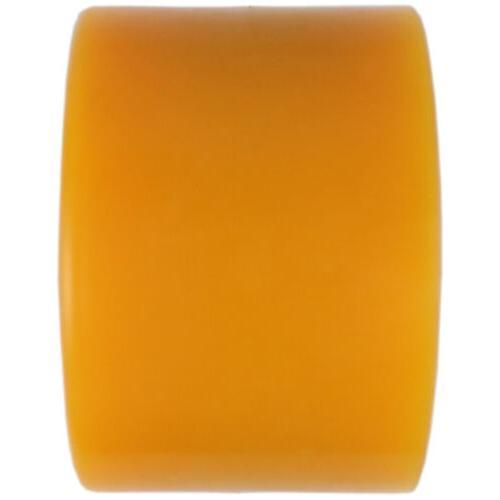 Quad Wheels Skate 65mm x Orange