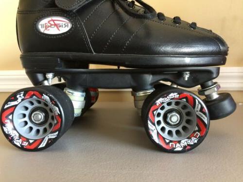 Riedell Cayman Roller Skates Size Radar *See Description