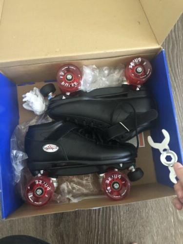 Riedell Roller Skates With Upgraded Outdoor Pulse Size