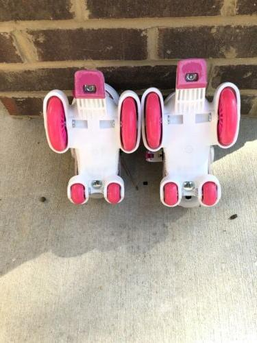 RD Derby Skates Roll Girls Adjustable Sizing Kids Youth Size