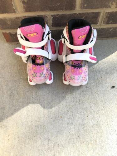 rd quad skates ez roll girls adjustable