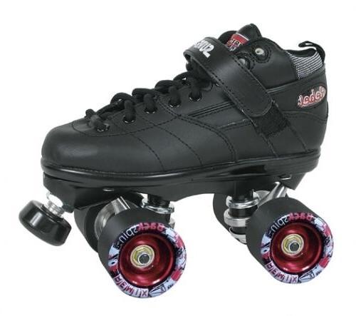rebel roller skate with backspin remix wheels