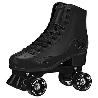 rewind unisex roller skates size 12 black