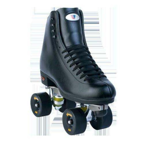 riedell quad roller skates 120 juice black