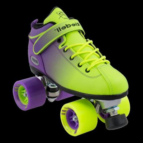 Riedell Quad Skates - Dart Ombre- Color