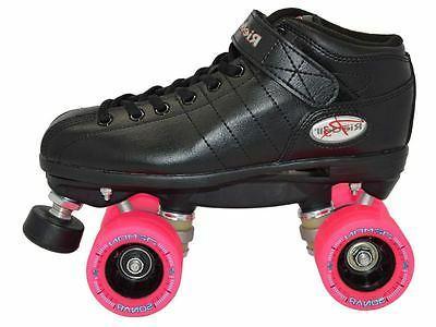 Riedell Pink Derby Speed Demon Wheels