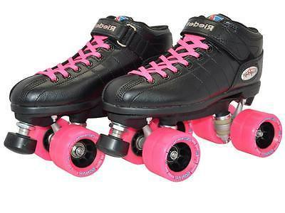 Riedell R3 Back Speed Skates Demon Wheels