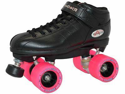 Riedell R3 Back Speed Skates EDM Demon