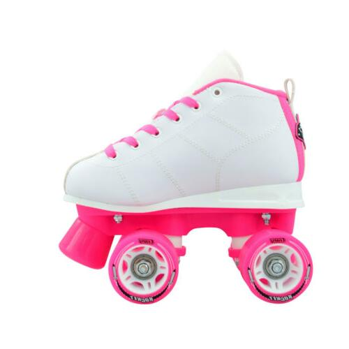 Crazy Skates Girls Roller Quad Speed Rollerskates Size