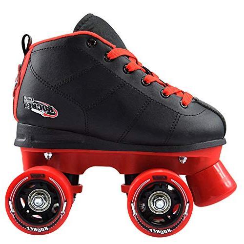 Skates Girls | Kids Skates Adjustable Red