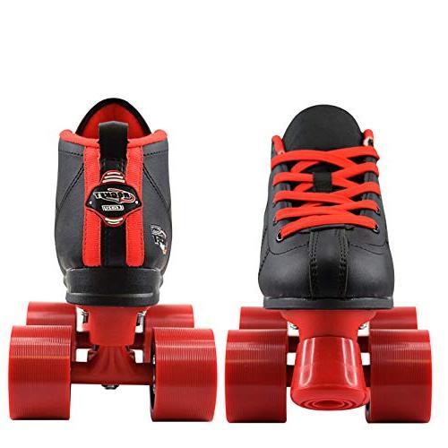 Crazy Rocket Roller Skates for Girls | Great Kids Skates Motion and Red