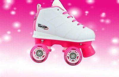 Rocket Girls Speed Rollerskates / Pink