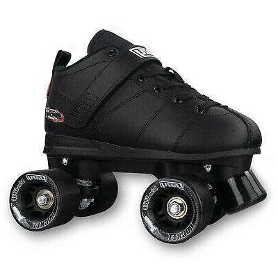 Rocket Roller Skates for Men, Boys | Black |