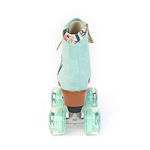 Moxi - Fashionable Roller Skate | Floss Teal | 9