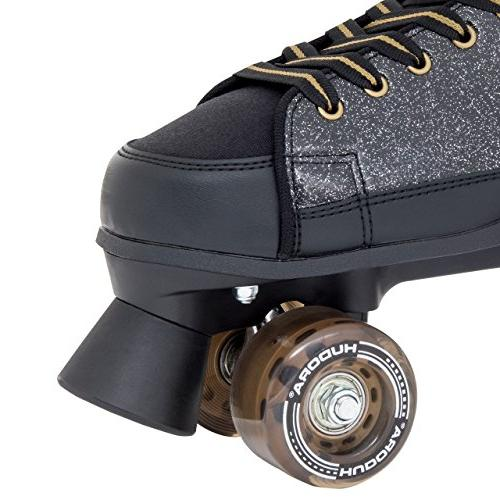 HUDORA Skates Skates Roller Black Glamour–Size