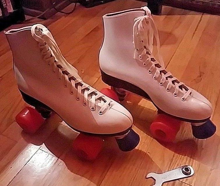 roller skates model 120 white size 9