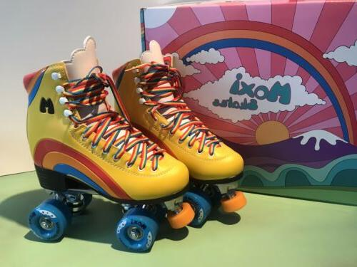 roller skates rainbow rider sunshine yellow size