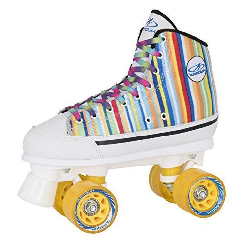 roller skates silver