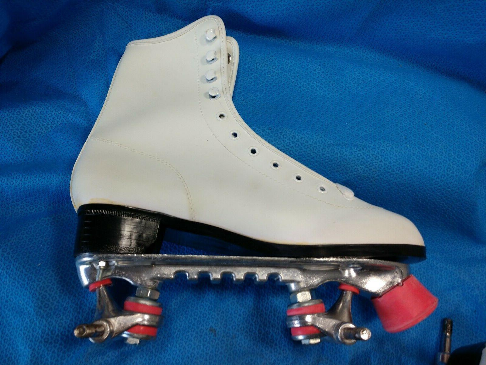 Chicago Roller Skates Size 8 Tigerloin Women's White no