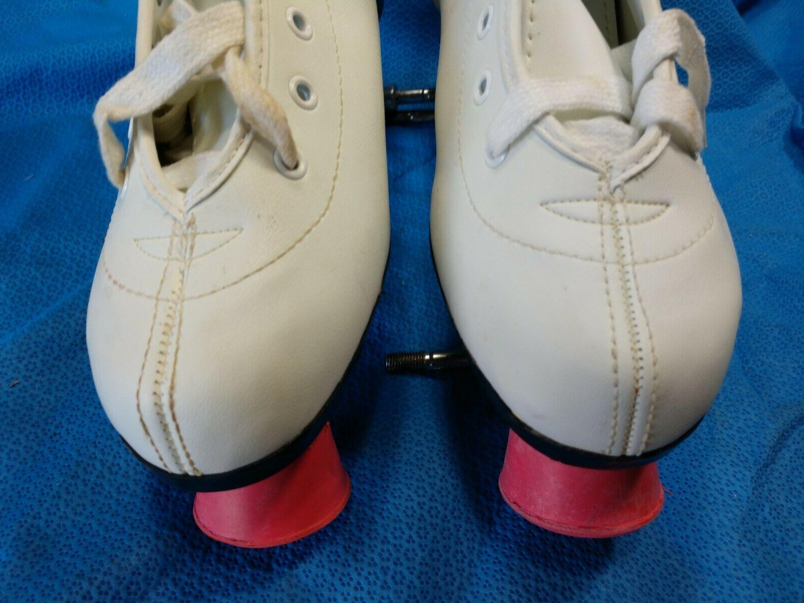 Chicago Skates 8 Women's Pink White