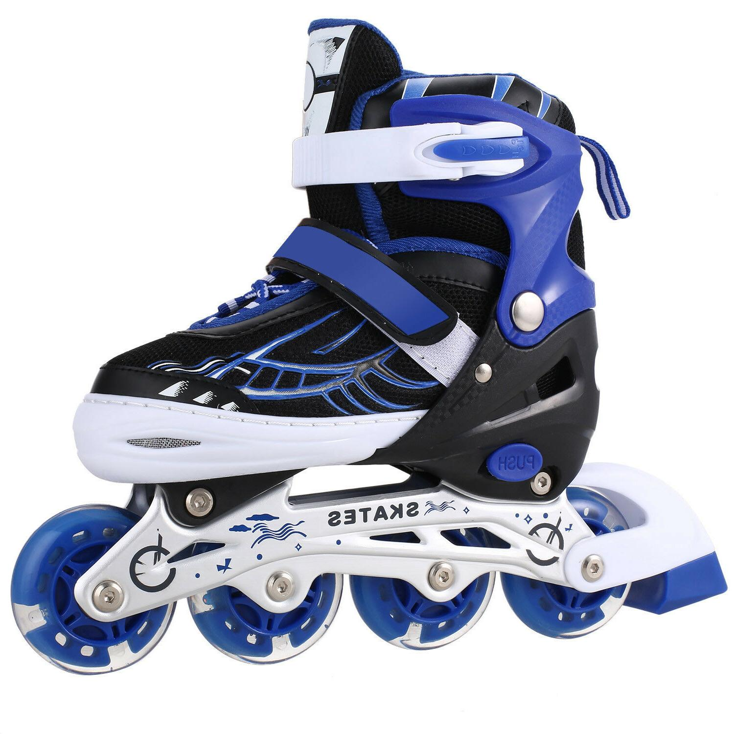 inline skates kids in outdoor adjustable rollerblades
