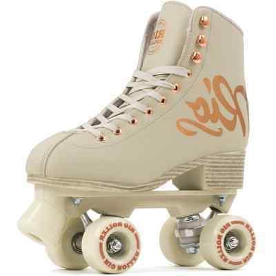 rose quad roller skates cream size uk