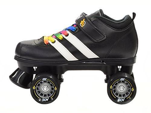 Riedell Rainbow Skates Riedell Volt Speed Skates Volt Rainbow 7