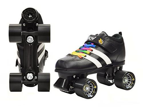 Riedell Skates Volt Speed Skates - Volt Rainbow Size 7