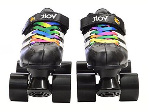 Riedell Volt Volt Speed Skates Volt Rainbow 7